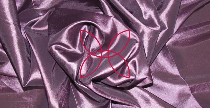 шелк ткани