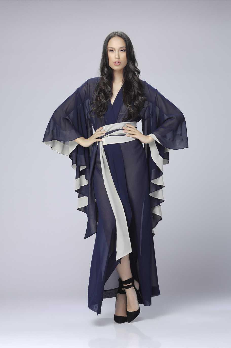 Tenuto Blu Кимоно 1007-13