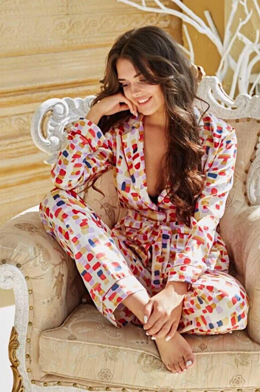 Amabile Rosso Пижамная рубашка